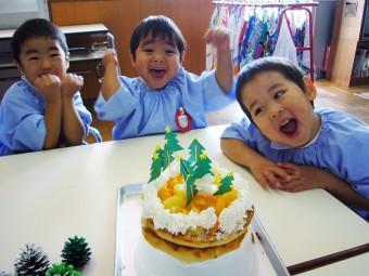 12月 ケーキ作り教室
