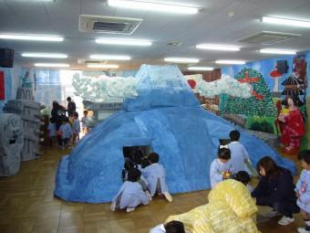 富士山の中は迷路になってます!