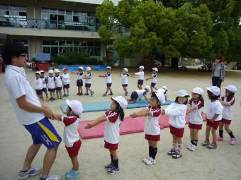 体操教室も始まりました!