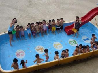 入夏の間のお楽しみ『プール』です