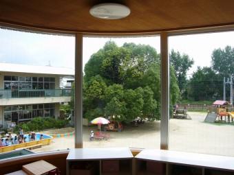 教室からの眺めはこんな感じ