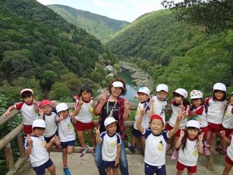 嵐山の亀山公園にも行きました!