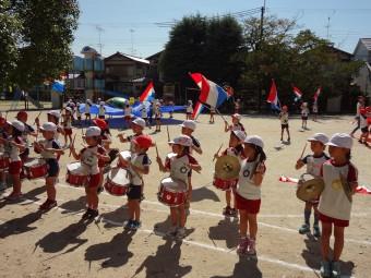 鼓隊リズムパレード