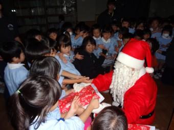 サンタさんにプレゼントをもらったよ!