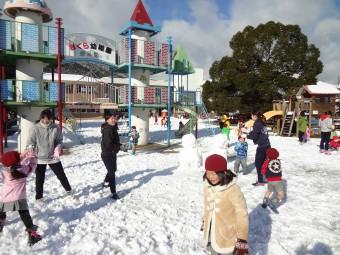 雪合戦も楽しかったね~!