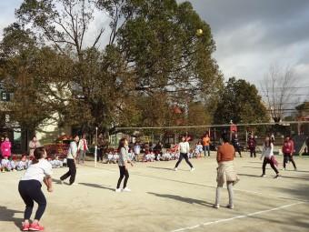 クラス対抗バレーボール大会