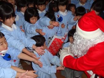 サンタさんにプレゼントも貰いました!