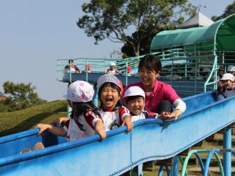 秋の遠足~矢橋帰帆島公園に行きました!