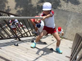 スロープ登りに挑戦!