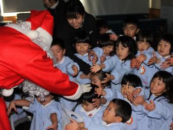 サンタさんも来てくれたよ!